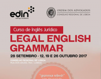 "Curso de Inglês Jurídico - ""Legal English Grammar"""