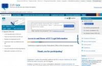 EUR-Lex Direito da União Europeia