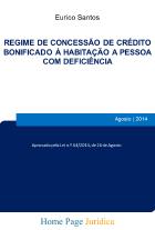 Regime de concessão de crédito bonificado à habitação a pessoa com deficiência
