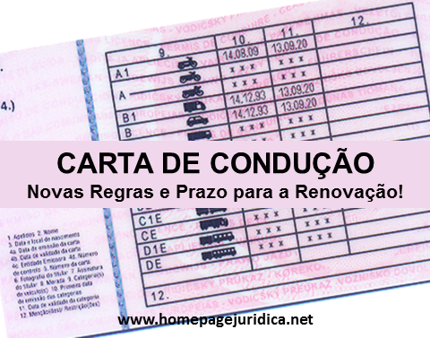 carta conducao