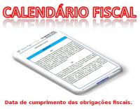 Agenda Fiscal para julho 2017