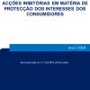 Acções inibitórias em matéria de protecção dos interesses dos consumidores