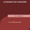 Lei-Quadro das Fundações