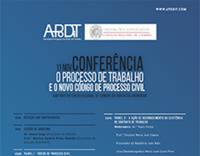 Conferência «O Processo do Trabalho e o novo Código do Processo Civil»