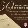 Congresso Internacional | Comemoração dos 50 anos do Código Civil