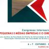 CONGRESSO INTERNACIONAL: As Pequenas e Médias Empresas e o Direito