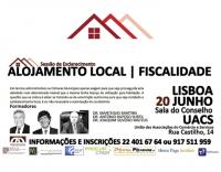 Sessão de Esclarecimento - Alojamento Local | Fiscalidade