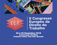 II Congresso Europeu de Direito do Trabalho