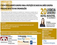 Formação: O novo regulamento europeu para a proteção de dados na união europeia