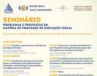 I Seminário - Problemas e propostas em matéria de processo de execução fiscal