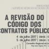 Ciclo de Conferências: A revisão do Código dos Contratos Públicos