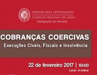 Conferência: Cobranças Coercivas: Execuções Cíveis, Fiscais e Insolvência