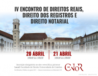 IV Encontro de Direitos Reais, Direito dos Registros e Direito Notarial