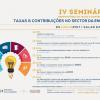 IV Seminário: Taxas e contribuições no sector da energia