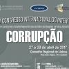 XVII Congresso Internacional do INTERPOJ | Corrupção