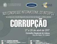 XVII Congresso Internacional do INTERPOJ | Corrupção