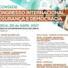 V CONSEDE – Congresso de Segurança e Democracia