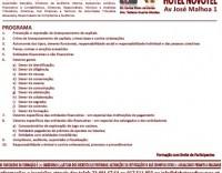 FORMAÇÃO:  DEVERES E RESPONSABILIDADES NA PREVENÇÃO E REPRESSÃO DO BRANQUEAMENTO DE CAPITAIS