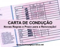 Carta de Condução – Novas Regras e Prazo para a Renovação!