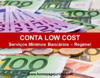 Serviços mínimos bancários – Regime Legal