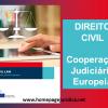 Direito Civil – Cooperação Judiciária Europeia - Manual