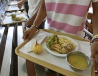 Cantinas e refeitórios públicos com opção vegetariana a partir de junho