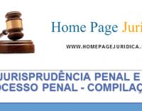 Jurisprudência Penal e Processo Penal