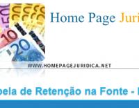 Tabelas de Retenção na Fonte - Açores e Madeira