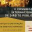 II Congresso Internacional De Direito Público - Justiça e Efetivação dos Direitos Humanos