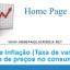 Taxa de Inflação (Taxa de Variação - Índice de Preços no Consumidor)